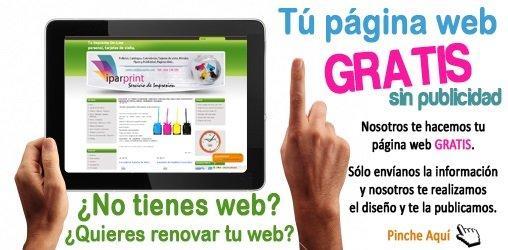 Tu página Web totalmente GRATIS